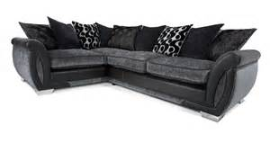 Black Velvet Corner Sofa » Simple Home Design