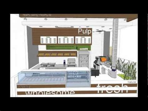 Kitchen Design Software food strategy pulp juice bar kiosk designs youtube