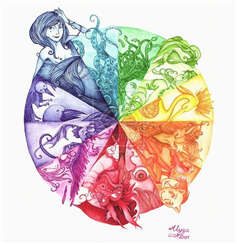 56 best ideas about creative color wheels on creative color wheel projects and mandalas