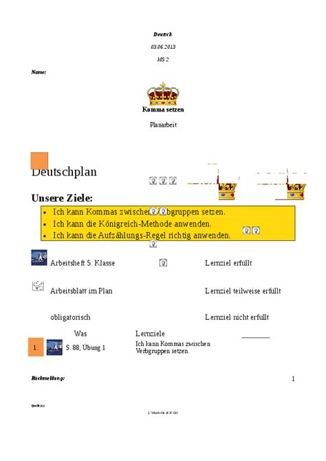 Satzanfange Deutsch Bezug
