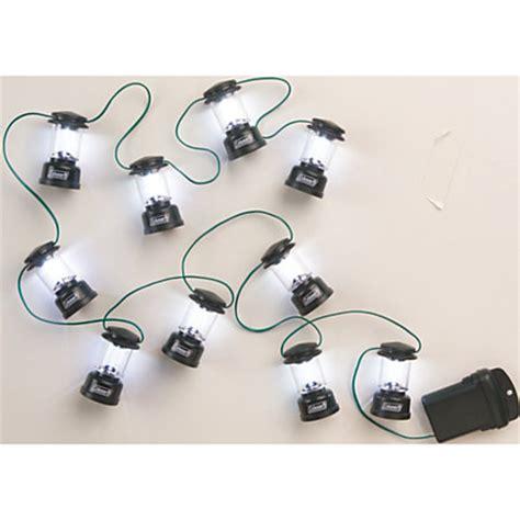 Coleman Led Mini Lantern String Lights 80 String Green By Coleman Lantern String Lights