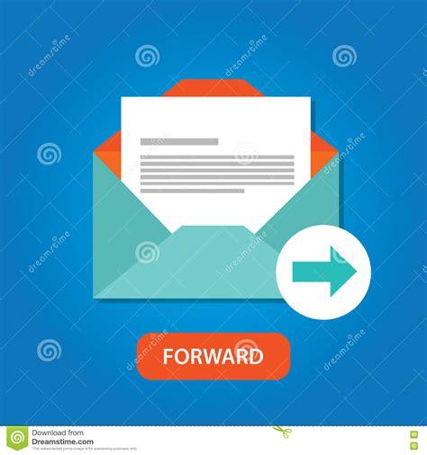 auto forwarder email automatic auto forward response icon button stock