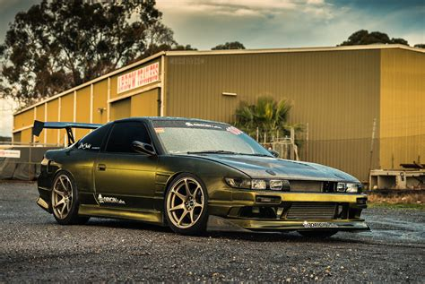 custom nissan 180sx 1994 nissan s13 180sx automotive photography in south