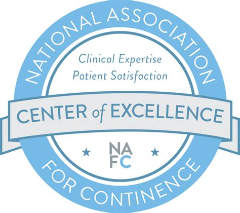 center of excellent nafc center of excellence learn about incontinence and