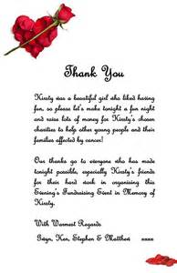 Appreciation Letter To Mother Fundraising In Memory Of Kirsty Raises Over 163 22 000