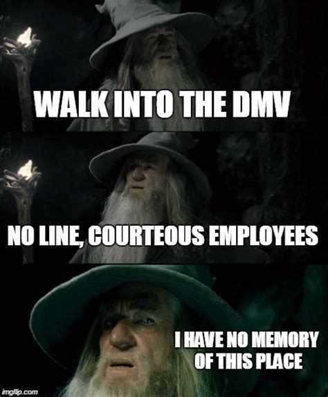 Memes On Line - a miracle at the dmv matchmaker logistics
