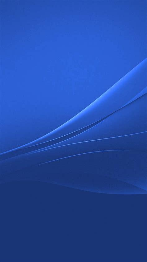 wallpaper xperia blue blue xperia lollipop experience flow wallpaper