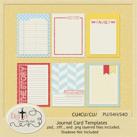 printable scrapbook journal templates monday s guest freebies digi tee designs follow the free