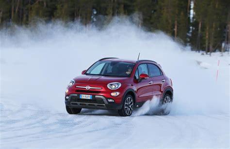 al volante 500x fiat 500x trazione e controllo alla prova sulla neve