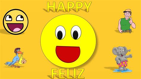 imagenes en ingles happy feelings for children in english spanish song emociones