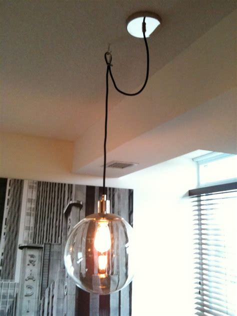 How To Hang A Pendant Light Creed How To Swag A Pendant