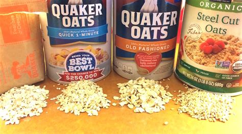 The Difference Between Steel Cut Old Fashioned Quick - types of oatmeal is all oatmeal created equal