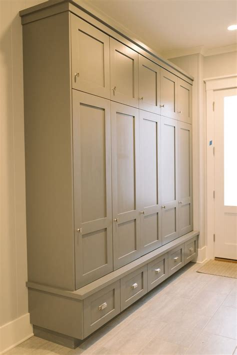 Entry Cabinet With Doors Mudroom Lockers Four Chairs Furniture Mudrooms Pinterest Furniture Doors And Built Ins