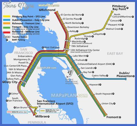bart station map bart map richmond bnhspine