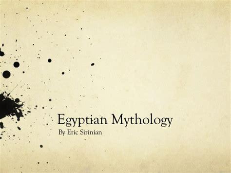 egyptian mythology ppt