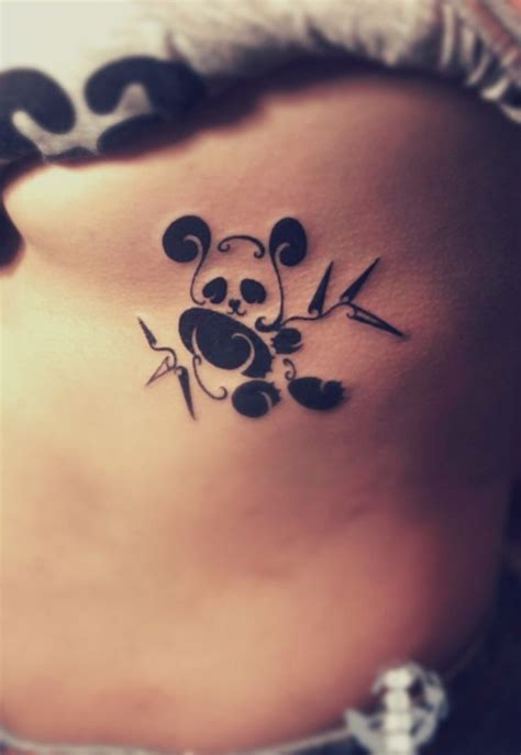 panda tattoo cute 40 dashing panda bear tattoos and their meaning page 3