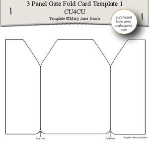 template for gatefold card shaped bookmark templates 2 cu4cu cup354536 99