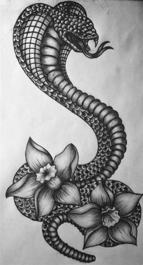cobra snake tattoo designs best 25 narcissus ideas on december