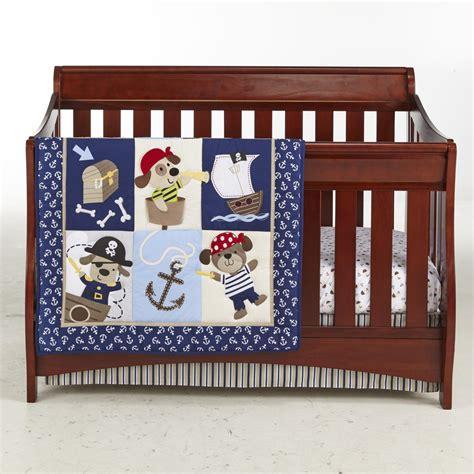 Pirate Crib Sheets by Cuddletime Infant Boy S Comforter Crib Sheet Skirt