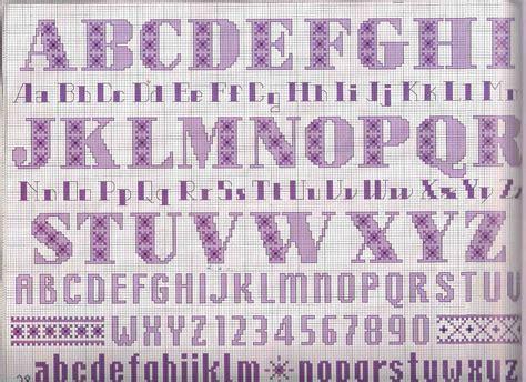 lettere alfabeto maiuscole da stare alfabeto punto croce lettere viola minuscole e maiuscole