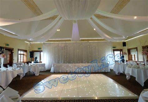 ceiling drapes for wedding wedding 10 pieces ceiling drape canopy drapery for