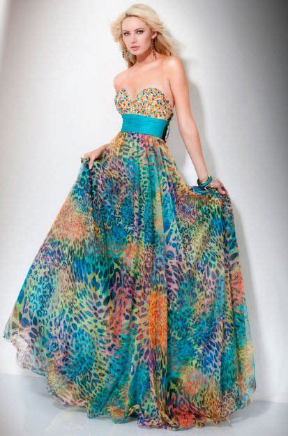 multi colored prom dress multi color prom dresses pictures stuff the would