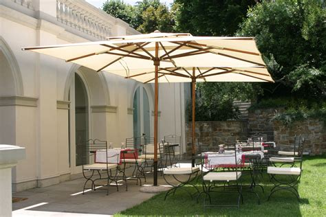 Aluminum Offset Patio Umbrella