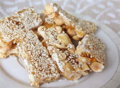 new year peanut cake my kitchen snippets peanuts and sesame bars