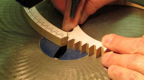 cutting wood gear clock wheel teeth youtube