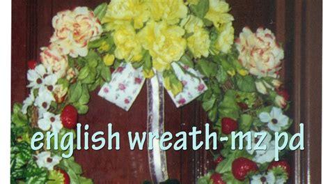 Bunga Bulat bunga bulat wreath for kitchen