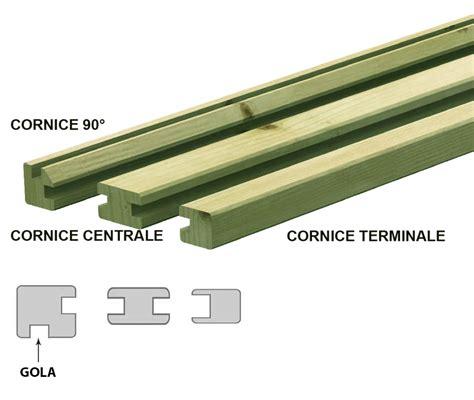 cornici per esterno cornice per pannelli in pino impregnato in autoclave