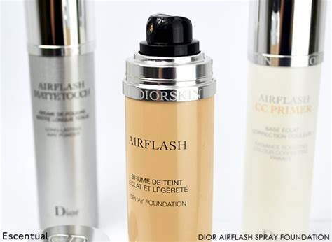 Airflash Spray Foundation airflash cc primer and airflash matte touch