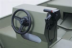Steering Wheel Kit For Small Boat Center Side Console