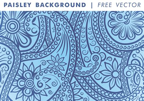 paisley pattern wallpaper vector paisley background vol 3 free vector download free