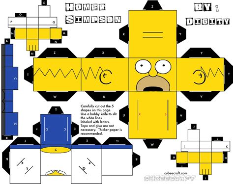 What Is Papercraft - papercrafts homero papercraft