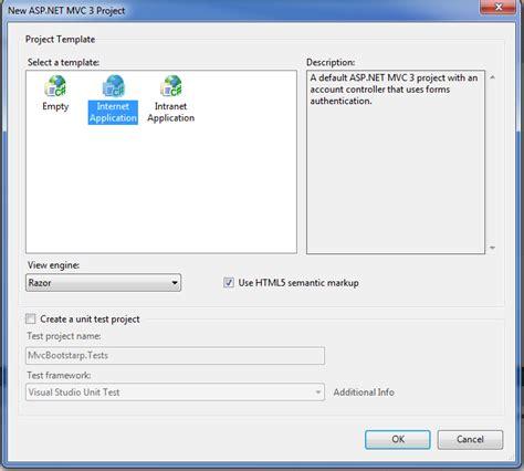 bootstrap templates for visual studio 2010 menggunakan twitter bootstrap dengan asp net c mvc 3 web