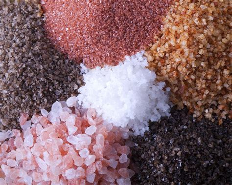 different types of salt ls know your salts different types of salt and their benefits