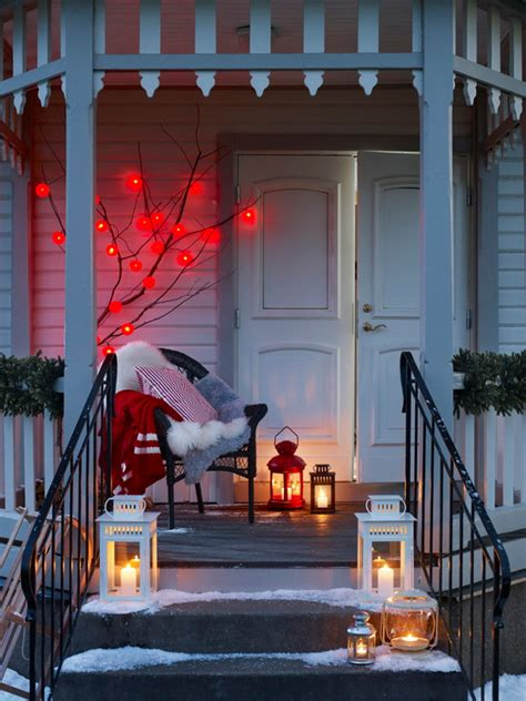 decorating front porch for christmas 30 amazing front porch christmas decoration ideas