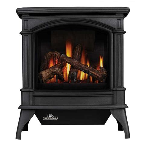 Fireplace Protection Barriers by Napoleon Knightsbridge Direct Vent Cast Iron Gas Stove W Safety Barrier