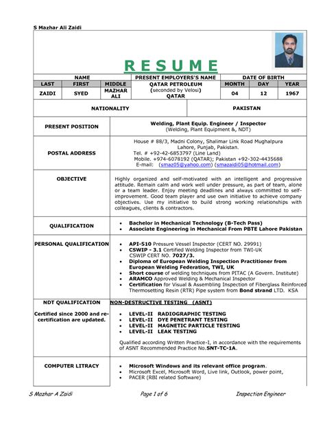 Preparation Of Resume Biodata And Curriculum Vitae by Re Work Procedure Resume Doc Documents Re
