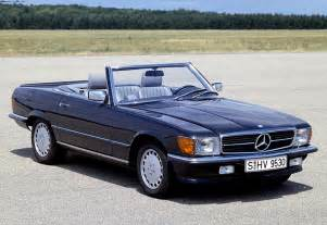 Mercedes Sl 1980 1980 Mercedes 500 Sl R107 Specifications Photo