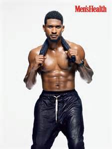usher shows off fit physique for men s health ny daily news