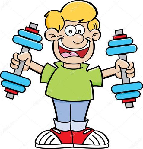 imagenes niños haciendo ejercicio ni 241 o de dibujos animados haciendo ejercicio archivo