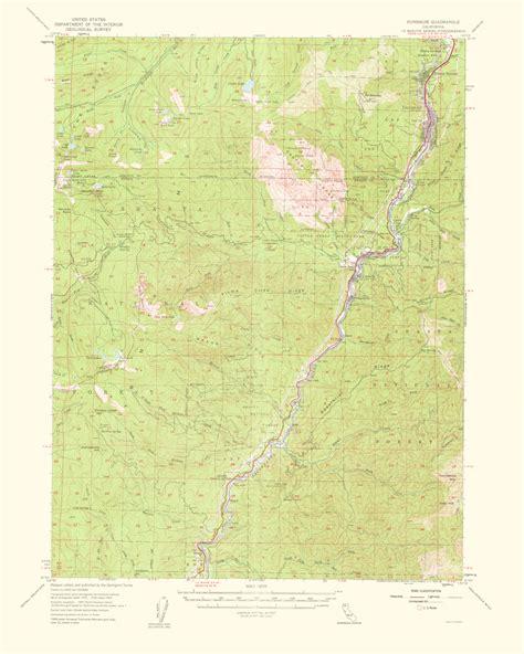 california quadrangle map historical topographical maps dunsmuiir quadrangle