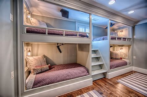Four Bed Bunk Bed 87 Crown Pointe Transitional Birmingham By