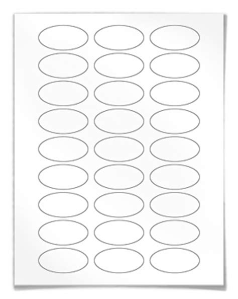 oval label templates oval laser labels oval inkjet labels oval stickers on