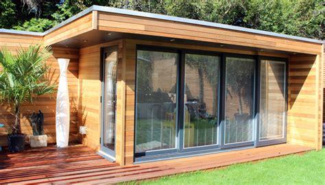 Plans For Guest House In Backyard Garden Lodges Garden Studios Garden Rooms And Garden