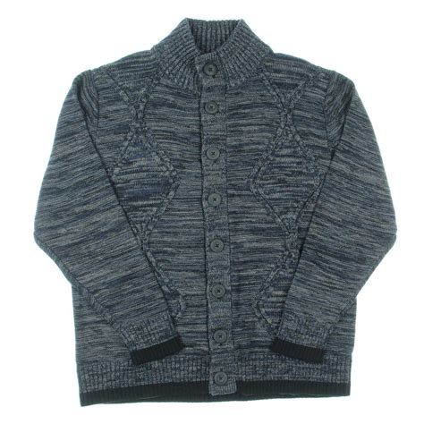 chunky cable knit cardigan sweater alex 0393 mens button front chunky cable knit