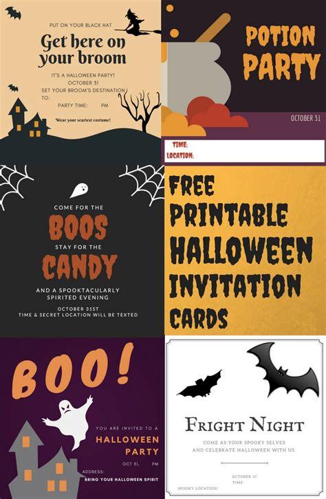 free printable halloween postcard invitations free printable halloween invitation cards settle in el paso