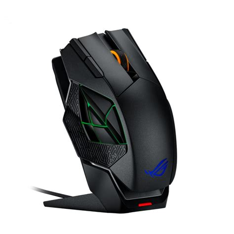 Mouse Gaming Asus Rog asus rog spatha wireless wired gaming mouse ocuk